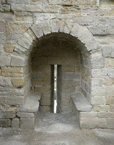 Castle Architecture - Arrow Loopholes, internal view