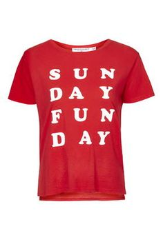 Sunday-Funday Tee by Project Social T