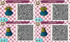 i unlocked the qr machine, so heres some simple overalls! they come in 8 flavors, with lgbt or hogwarts house shirts! enjoy! ✿