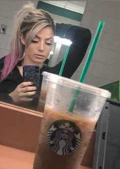 What's better than coffee? Best Coffee, My Coffee, Nikki Bella Photos, Alexis Bliss, Becky Wwe, Lexi Kaufman, R Truth, Wwe Female Wrestlers, Wwe Girls