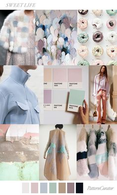Hope you enjoyed your trip to Peru! Today let's do this 'industrial pastels' colour & theme. Some pretty shades to match x