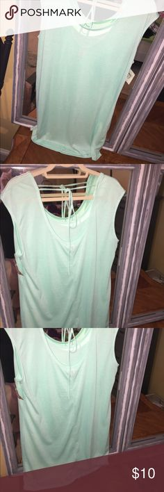 Light mint green coverup size XXL NWT Ladies light mint green cover up in size XXL. NWT Swim Coverups