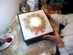 Advent Calendar in a Box from Foam Board & Packing Tape