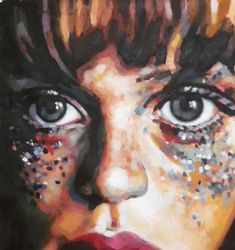 "Saatchi Art Artist: thomas saliot; Oil Painting ""Glitters"""