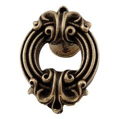 "Vicenza Designs Sforza Novelty Knob Finish: Antique Brass, Size: 1.75"" H x 1.25"" W x 1.125"" D"