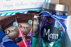 Unique Mother's Day Gift ~ Featuring DOVE® Dark Chocolate!! #sharetheDOVE