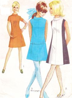 1960s Vintage Simplicity Sewing Pattern 7587 Womens by CloesCloset, $12.00