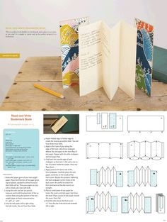 fuckyeahbookarts:  DIY Bookmark Book Tutorial by Erin Zamrzla