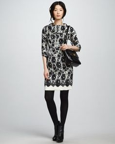 Aurora Lace Dress by Milly at Neiman Marcus.
