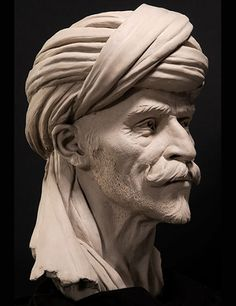 Concept Modeling For Easy Clay Sculptures: – Picture : – Description Bedouin Stone Sculptures, Full Figure Portrait Sculpting by Philippe Faraut -Read More – Easy Clay Sculptures, Sculpture Head, Stone Sculptures, Sculpture Portrait, Traditional Sculptures, Sculpting Tutorials, Male Face, Zbrush, Image