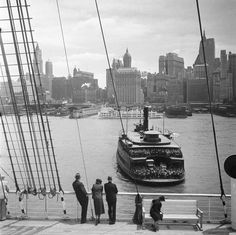New York 1938  Photo: Eva Besnyö