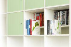 #Kallax #shelf unit from #New #Swedish #Design for #DVD and #bluray disc // Kallax #Regaleinsatz von New Swedish Design für DVD- und #Bluray-Aufbewahrung
