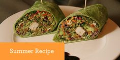 avocado pesto wrap