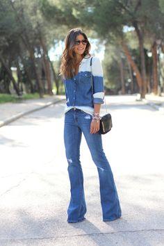 trendy_taste-look-outfit-street_style-ootd-blog-blogger-moda_españa-fashion_spain-hilfiger_denim-denim_total_look-vaqueros_campana-degradado-pg-fendi-sunnies-gafas_de_sol-style-16