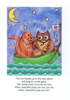 The Owl and the Pussycat 02    Limited Edition by TheGreenBoat, £12.00