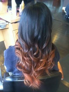 Ombre hair by Mari at Brassfield's Salon