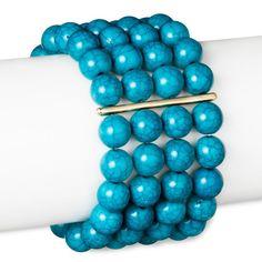 Sugarfix by BaubleBar Beaded Bracelet - Teal (Blue)