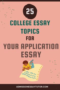 When choosing a college essay topic you don't need to choose a scholarly topic or some world-shattering event. The admissions officer doesn't want a lesson in history or social economics, but rather wants to learn about you as a person. Here you will find examples of the best essay topic and a step-by-step workshop tutorial to teach you how to write an outstanding college application essay. #CollegeApplicationEssay #CollegeEssayExamples #EssayTopicsforCollege Good Essay Topics, College Essay Topics, College Essay Examples, College Admission Essay, College Application Essay, Social Economics, High School Writing Prompts, World Hunger