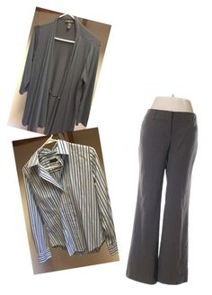 """""""Business Casual Striped"""" by amy-flannery-skaar on Polyvore featuring New York & Company"""