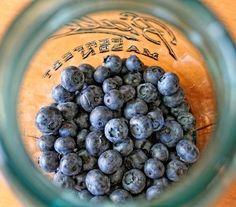 Making blueberry liqueur....Mmmmm.