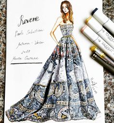 44 New ideas fashion ilustration croquis art Dress Design Sketches, Fashion Design Sketchbook, Fashion Design Drawings, Fashion Sketches, Fashion Figure Drawing, Fashion Drawing Dresses, Dress Illustration, Fashion Illustration Dresses, Fashion Illustrations