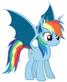 Rainbowbat - Full Body by Magister39.deviantart.com on @deviantART