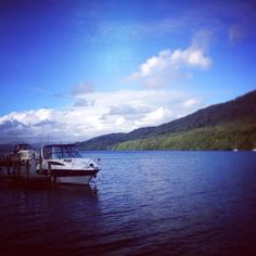 Blue sky, blue water, and some fabulous boats on Lake Windermere in the stunning Lake District in England.  #lake #lakedistrict #lakedistrictnationalpark #lakeview #blue #bluesky #cloud #clouds #windermere #lakewindermere #england #sceniclocations #boat #boats #boating