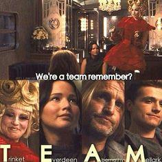 Their last names spell team