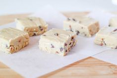 Cookie Dough Fudge by Sallys Baking Addiction    http://sallysbakingaddiction.com/2012/06/28/chocolate-chip-cookie-dough-fudge/#