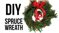 How to Make a Christmas Wreath Christmas Wreaths To Make, Christmas Decorations, Holiday Decor, Rock Crafts, Diy Crafts, Craft Tutorials, Craft Projects, Creative Arts And Crafts, Green Wreath