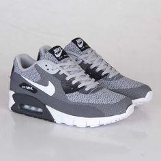save off d0756 7e767 Nike Air Max 90 JCRD Nike Air Max Shoes, Nike Air Max Grey, Women