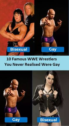 10 Famous WWE Wrestlers You Never Realised Were Gay