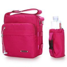 2cb3c77616 Women Nylon Crossbody Bag With Bottle Bag Sport Bags