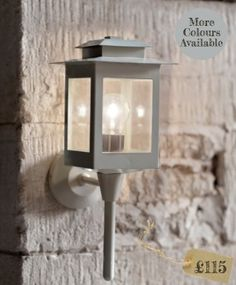 Exterior lighting   Wall lanterns   Traditional & Modern designs from The Olive Tree