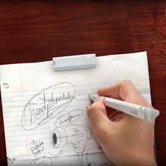 Equil Smartpen 2 lets you draw or take notes on paper and save it to your Smartphone, Tablet, or PC.