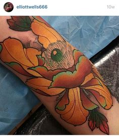Elliott wells love the colors of this tattoo!