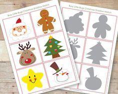 FREE PRINTABLE CHRISTMAS MATCHING GAME