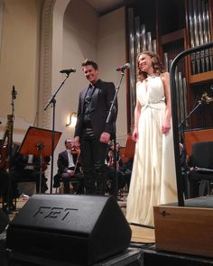 """Fantastic performance @sarah_joy_miller @divodavidmiller  #concert #opera #musical #sarahjoymiller #davidmiller #ildivo #tenor #soprano #zilina…"""