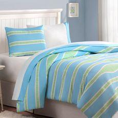 Hildy Blue Complete Bed Ensemble