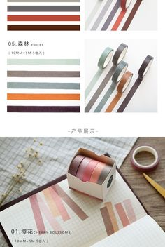 10 Rolls Washi Tape Set for Holiday Gift Wrapping DIY Decorative Arts Black Gold Aesthetic Craft Tape 1.5cm Wide 5 Meter Length for Scrap-booking Crafts Gift Wrapping Bullet Journal Calendar Diary Notebook