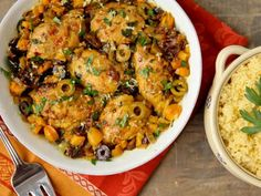 Easy Moroccan Chicken