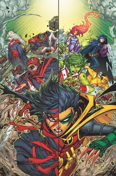 TEEN TITANS #5 Written by BENJAMIN PERCY • Art by KHOI PHAM and WADE VON GRAWBADGER • Cover by JONBOY MEYERS • Variant cover by CHRIS BURNHAM