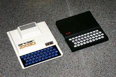 ZX 81  Año : 1981  CPU : Zilog Z-80 (3.5 Mhz, 8 bits)  RAM : 1 Kb (externament expandible a 64 Kb)