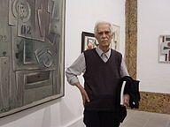 Alceu Ribeiro en el Casal Solleric, 2006. Retrospectiva.