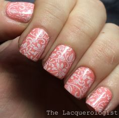 Born Pretty Store Stamping Plates: Initial Review & Nail Art! • Casual Contrast