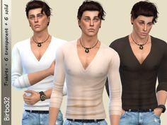 The Sims Resource: Biagio T-Shirt by Birba32 • Sims 4 Downloads
