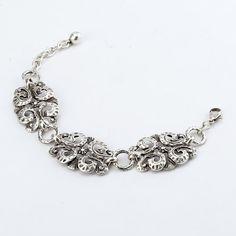Turkish collection, base metal. 3 piece vintage pendant bracelet.  www.ChristianLivingston.com
