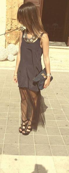 Verlan Dress. PaolaMerlinoDesigner