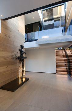Concrete House | Entrance | M Square Lifestyle Design #Design #Interior #Architecture #Contemporary Style Deco, Hall Design, Entrance Design, House Entrance, Design Design, House Design, Entry Wall, Door Entry, Modern Hall