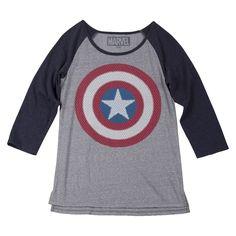 Marvel Captain America Shield Tee
